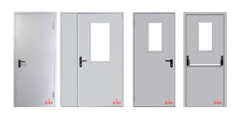 Двери противопожарные, двери технические